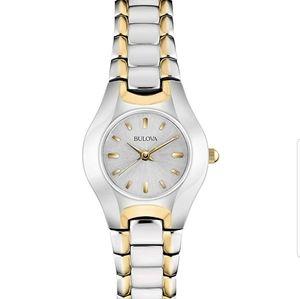 Bulova Women's stainless steel watch 98T84k